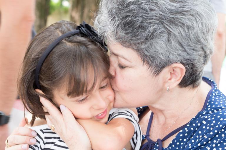 conexão entre avó e neta